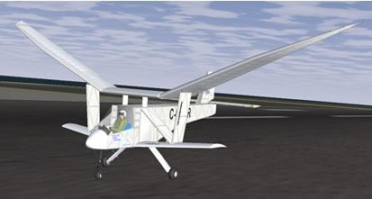 Project Ornithopter - FlightGear Flight Simulator